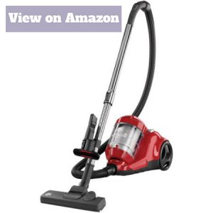 Dirt Devil Featherlite Cyclonic Bagless Canister Vacuum