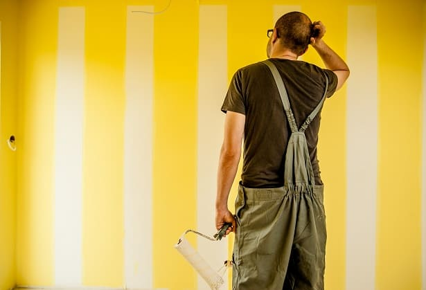 confused painter